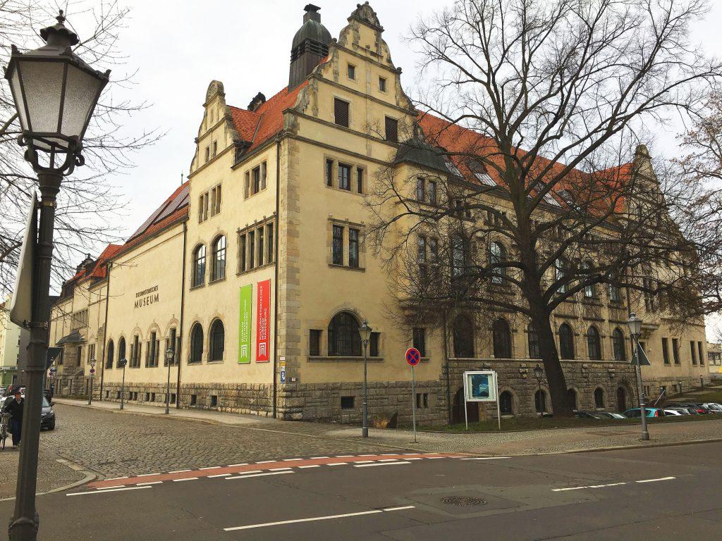 Foto vom ´Kulturhistorischen Museum in Magdeburg
