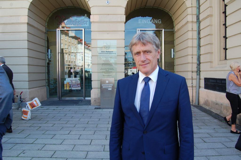 Rainer Nitsche, Beigeordneter Stadt Magdeburg