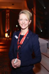 Sandra Y. Stieger, Geschäftsführerin der Magdeburg Marketing Kongress und Tourismus GmbH