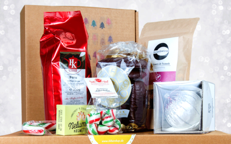 """Weihnachtsgeschenkbox """"Das Beste aus Sachsen-Anhalt"""""""