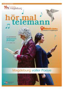 """Cover der Beilage """"Hör mal Telemann"""""""