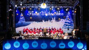Foto vom Weihnachtssingen in der MDCC-Arena