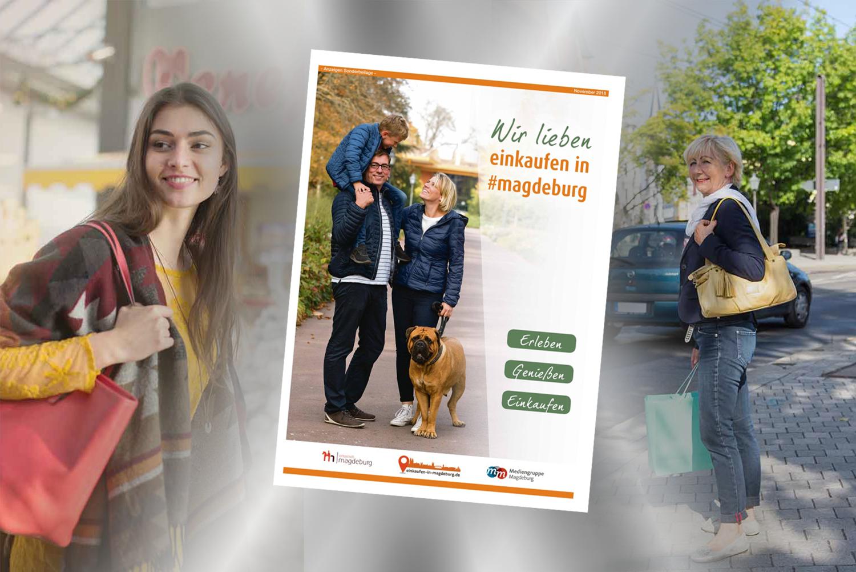 Wir lieben einkaufen in magdeburg - Herbstbeilage 2018