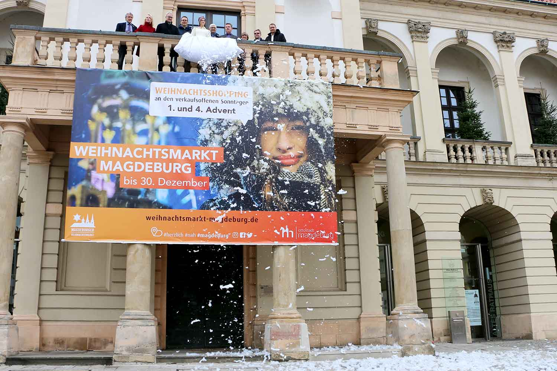 Start der Magdeburger Weihnachtsmarkt-Kampagne 2018