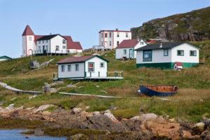 Hafen von Kampf, Labrador, Kanada