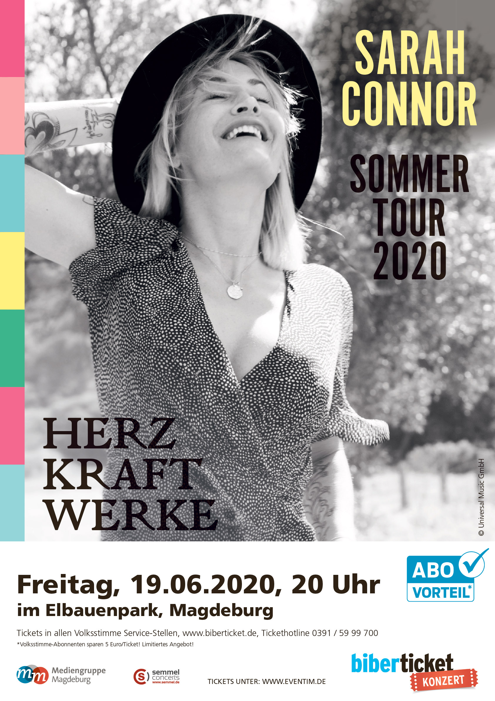 Sarah Connor Sommer Tour 2020