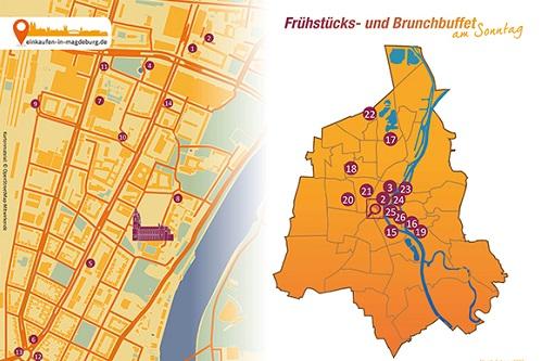 Karte zum Brunch-Artikel in Magdeburg Vorschau