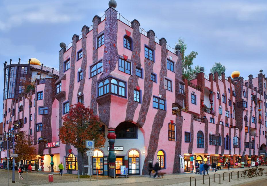 Die Grüne Zitadelle - Hundertwasserhaus